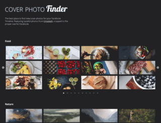 coverphotofinder.com screenshot