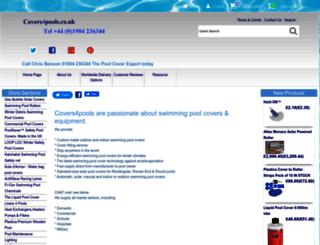 covers4pools.co.uk screenshot