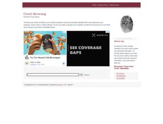 covertbrowsing.com screenshot