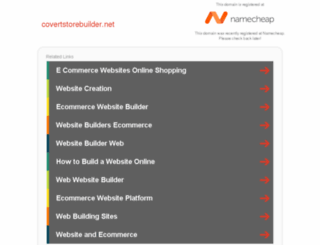 covertstorebuilder.net screenshot