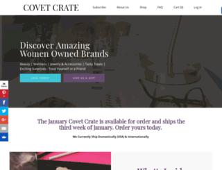 covetcrate.cratejoy.com screenshot
