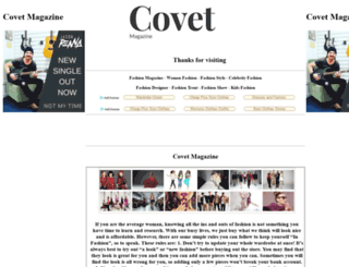 covetmagazine.com.au screenshot