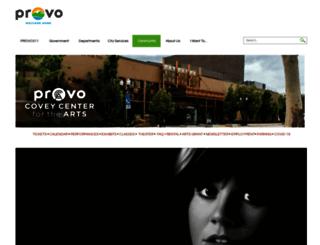 coveycenter.org screenshot