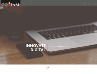 coviam.com screenshot