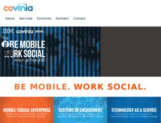 covinia.com screenshot