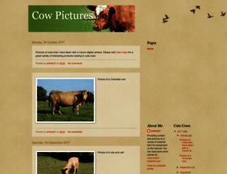 cow-pictures.blogspot.co.uk screenshot