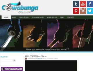 cowabungacorner.com screenshot