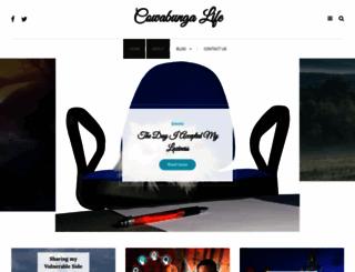 cowabungalife.com screenshot