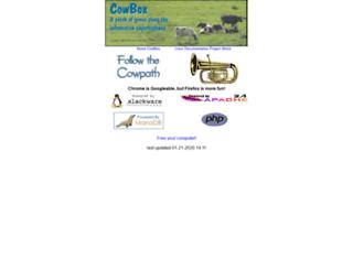 cowbox.coe.uky.edu screenshot