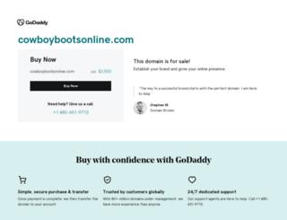 cowboybootsonline.com screenshot