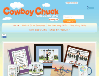 cowboychuck.com screenshot