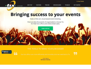 cowboyfestival.tix.com screenshot