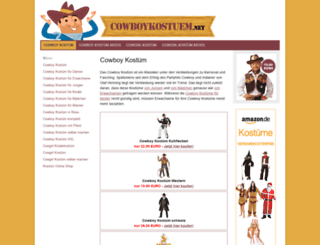 cowboykostuem.net screenshot