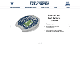 cowboys.strmarketplace.com screenshot