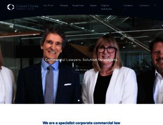 cowellclarke.com.au screenshot