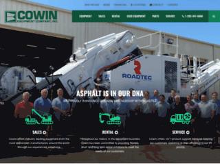 cowin.com screenshot