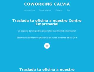 coworkingcalvia.ifoc.es screenshot