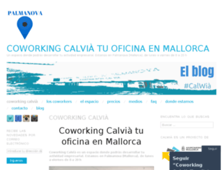coworkingcalvia.wordpress.com screenshot