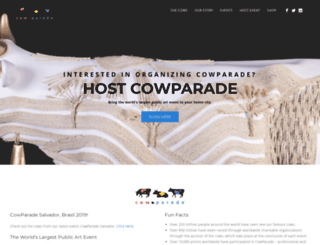 cowparade.com screenshot