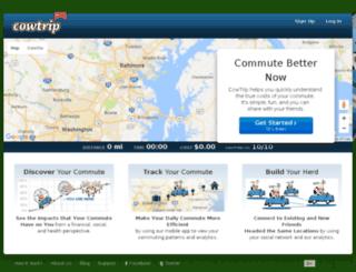 cowtrip.com screenshot