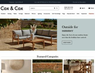 coxandcox.co.uk screenshot