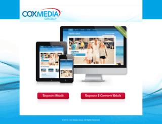 coxmediagroup.thestagingurl.com screenshot