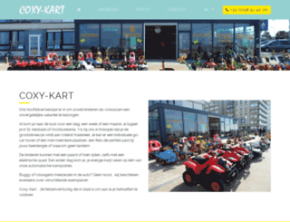 coxy-kart.be screenshot