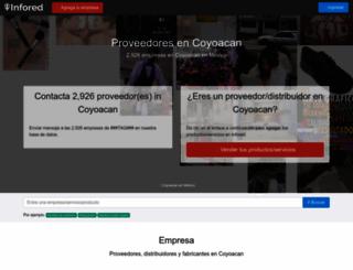 coyoacan.infored.com.mx screenshot