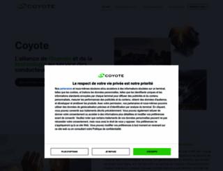 coyotesystems.com screenshot