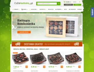 cozaherbata.pl screenshot
