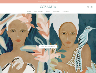 cozamia.com screenshot