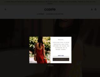 cozete.com screenshot