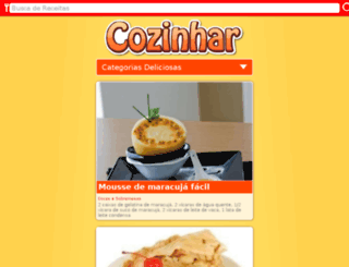 cozinhar.org screenshot