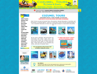 cozumel-tours.com screenshot