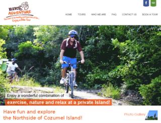 cozumelbikeadventure.com screenshot