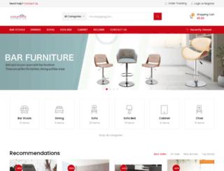 cozyhomz.com screenshot