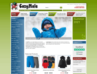 cozymole.co.uk screenshot