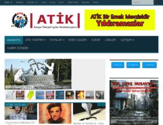 cp.atik-online.net screenshot