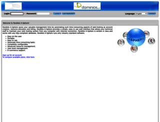 cp.dominios.pt screenshot