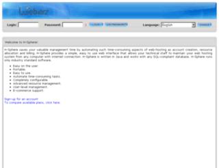 cp.weberz.com screenshot