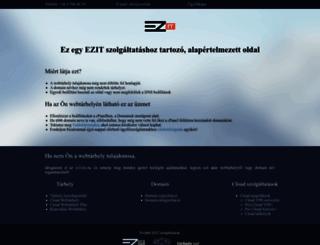 cp2.ezit.hu screenshot