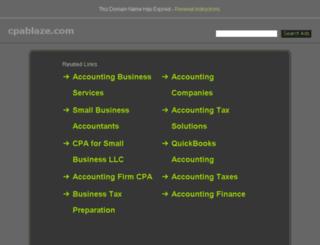 cpablaze.com screenshot