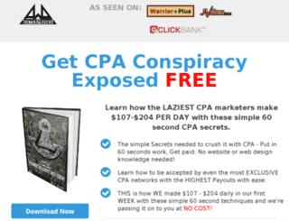 cpaconspiracyexposed.com screenshot