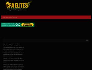 cpaelites.com screenshot
