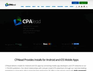 cpalead.com screenshot