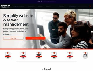 cpanel.net screenshot
