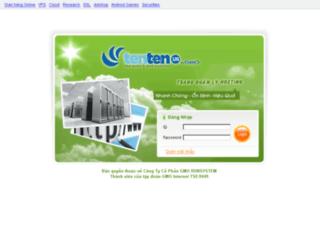 cpanel.tenten.vn screenshot