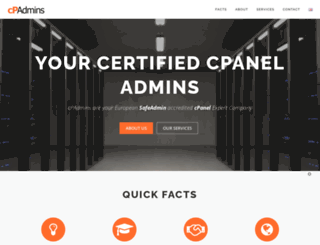 cpaneladmins.com screenshot