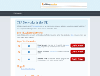 cpaoffers.com screenshot