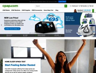 cpap.com screenshot